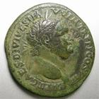 Photo numismatique  Monnaies Empire Romain TITUS, TITO Sesterce, sesterz, sestertius, sestertio TITUS, Sesterce frappé à Rome en 72, Pax Augusti SC, 25.16 Grms, RIC.609 Beau TTB, belle patine!