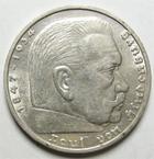 Photo numismatique  Monnaies Monnaies étrangères Allemagne 3ème reich 5 Mark 3ème Reich, dritte reich, third reich, 5 mark