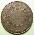 Photo numismatique  Monnaies M�dailles Concours de Tir M�daille bronze HERICOURT, Concours f�d�ral de tir, 1908, M�daille en bronze de 46 mm, poin�on triangle:roue � 4 rayons, SUPERBE