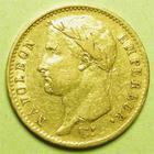 Photo numismatique  Monnaies Monnaies Française en or 1er Empire 20 Francs or NAPOLEON Ier, 20 Francs or 1807 A, revers république, G.1024 coup sur le sourcil sinon TTB
