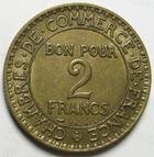 Photo numismatique  Monnaies Monnaies Françaises Troisième République 2 Francs 2 Francs Domard 1926, G.533 TTB à SUPERBE