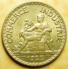 Photo numismatique  Monnaies Monnaies Françaises Troisième République 50 Centimes 50 centimes Domard 1922, G.421 TTB à SUPERBE