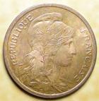 Photo numismatique  Monnaies Monnaies Françaises Troisième République 2 Centimes 2 centimes Dupuis 1902, G.107 SUPERBE