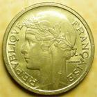 Photo numismatique  Monnaies Monnaies Françaises Troisième République 1 Franc 1 franc Morlon 1938, G.470 TTB+