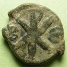 Photo numismatique  Monnaies Monnaies Byzantines 6ème siècle 10 Nummi JUSTINUS I, JUSTIN Ier, 518.527, 10 Nummi Constantinople, 3.27 grammes, Sear.75 TB+