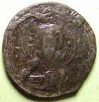 Photo numismatique  Monnaies Monnaies Byzantines 10ème / 11ème siècle Follis, folles,  NICEPHORUS III, NICEPHORE III,1075.1080, Follis anonyme, 4.38 grammes, Sear.1889 TB+