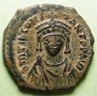 Photo numismatique  Monnaies Monnaies Byzantines 6ème siècle Decanummium TIBERIUS II CONSTANTINUS, TIBERE II CONSTANTIN, 578.582, Decanummium, 4.83 grammes, Sear.436 TTB+