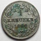 Photo numismatique  Monnaies Monnaies étrangères Allemagne Bayern (Bavière) 1 Kreuzer BAYERN, BAVIERE, 1 kreuzer 1869, Ludwig II, J.93 taché sinon SUPERBE