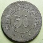 Photo numismatique  Monnaies Monnaies de nécéssité Alsace-Lorraine 50 Pfennig SARRE UNION, SAAR-BUCKENHEIM, 50 pfennig 1918, Marchand 10.3 TTB