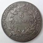 Photo numismatique  Monnaies Monnaies Françaises 1er Empire 5 Francs NAPOLEON Ier, 5 francs 1806 BB Strasbourg, G.581 TTB+