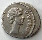 Photo numismatique  Monnaies République Romaine Octavianus, Agrippa, 38 avant Jc Denier, denar, denario, denarius OCTAVIANUS, OCTAVIAN, OCTAVE, denier 38 avant Jc, Italie ou Gaule?, M.AGRIPPA COS DESIG, 4.00 Grms, SYD.1331 / C.545, Presque SUPERBE Rare!!