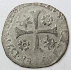 Photo numismatique  Monnaies Monnaies F�odales Comtat Venaissin Douzain COMTAT VENAISSIN, Clement VIII 1592.1605, douzain au nom de Silvio Savelli, 1595, PA.4334 TB � TTB
