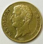 Photo numismatique  Monnaies Monnaies Française en or 1er Empire 20 Francs or NAPOLEON Ier, 20 francs or AN 12 A, G.1021 TTB