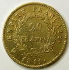 Photo numismatique  Monnaies Monnaies Française en or 1er Empire 20 Francs or NAPOLEON Ier, 20 francs or 1811 A, G.1025 TTB