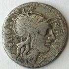 Photo numismatique  Monnaies R�publique Romaine Fabia 124 avant Jc Denier, denar, denario, denarius Q.FABIUS LABEO, Denier 124 avant Jc, quadrige � droite, RSC.Fabia 1 TB+