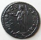 Photo numismatique  Monnaies Empire Romain LICINIUS I, LICINIO I,  Follis, folles,  LICINIUS I, Follis, Rome en 317.318, Iovi conservatori, 3.10 grammes, RIC.99 R4!! SUPERBE Rare!!