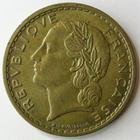Photo numismatique  Monnaies Monnaies Françaises Troisième République 5 Francs 5 francs Lavrillier bronze alu, 1940, G.761 TTB+