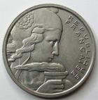 Photo numismatique  Monnaies Monnaies Françaises 4ème république 100 Francs 100 francs Cochet 1958, G.897 Presque SUPERBE