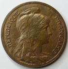 Photo numismatique  Monnaies Monnaies Françaises Troisième République 10 Centimes 10 centimes Dupuis 1916 étoile, G.277 SUPERBE