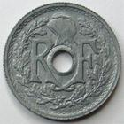 Photo numismatique  Monnaies Monnaies Françaises Gouvernement Provisoire 10 Centimes 10 centimes zinc d'après Lindauer, 1946 B petit module, G.292 SUPERBE
