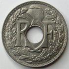 Photo numismatique  Monnaies Monnaies Françaises Troisième République 10 Centimes 10 centimes Lindauer 1920, G.286 SUPERBE