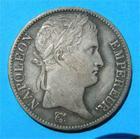 Photo numismatique  Monnaies Monnaies Françaises 1er Empire 5 Francs NAPOLEON Ier premier empire, 5 Francs 1811 A Paris, belle patine médailler, Gadoury 584 TTB+