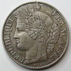 Photo numismatique  Monnaies Monnaies Françaises Troisième République 50 Centimes 50 centimes Cérès 1881 A, G.419a TTB