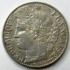 Photo numismatique  Monnaies Monnaies Fran�aises Troisi�me R�publique 50 Centimes 50 centimes C�r�s 1895 A Paris, G.419a TTB+