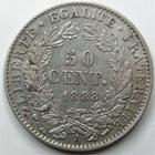 Photo numismatique  Monnaies Monnaies Fran�aises Troisi�me R�publique 50 Centimes 50 centimes C�r�s 1888 A Paris, G.419a TTB+
