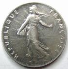 Photo numismatique  Monnaies Monnaies Françaises Troisième République 50 Centimes 50 centimes Semeuse de Roty 1907, G.420 SUPERBE