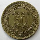 Photo numismatique  Monnaies Monnaies Françaises Troisième République 50 Centimes 50 centimes Domard 1927, G.421 TTB à SUPERBE
