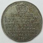 Photo numismatique  Monnaies Allemagne avant 1871 Allemagne, Deutschland, Frankfurt, Frankfort Frappe en argent du 3/4 de ducat FRANKFURT (Frankfort), Couronnement de Joseph II, 1764, frappe en argent du 3/4 de ducat, TTB+