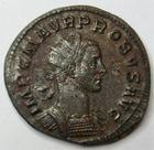 Photo numismatique  Monnaies Empire Romain PROBUS, PROBIO Antoninien, antoninianus, antoniniane PROBUS, antoninien, Lyon en 279.280, Tempor Felici I, 3.87 grammes, RIC.51 Variante TTB+
