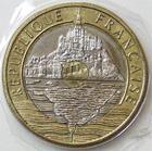 Photo numismatique  Monnaies Monnaies Françaises Cinquième république 20 Francs 20 francs Mont Saint Michel 1999, G.871