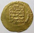 Photo numismatique  Monnaies Monnaies de l'Islam Dynastie des Seljouquides Dinar or IRAN, Muhammad I, 1105.1117, Dynastie des Seljouquides, dinar or, Hennequin 120 faiblesse de frappe, TB à TTB