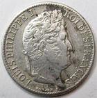 Photo numismatique  Monnaies Monnaies Françaises Louis Philippe 1/2 Franc LOUIS PHILIPPE Ier, 1/2 Franc 1840 A Paris, G.408 TB+