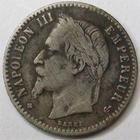 Photo numismatique  Monnaies Monnaies Françaises Second Empire 50 Centimes NAPOLEON III, 50 centimes tête laurée 1867 BB Strasbourg, G.417 TB+