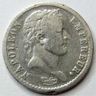 Photo numismatique  Monnaies Monnaies Françaises 1er Empire Demi franc NAPOLEON Ier, demi francs 1808 D Lyon, G.398 TB+/TB