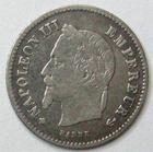 Photo numismatique  Monnaies Monnaies Françaises Second Empire 20 Cmes NAPOLEON III, 20 centimes lauré 1868 BB Strasbourg, G.309 TTB