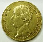 Photo numismatique  Monnaies Monnaies Française en or Consulat 20 Francs or NAPOLEON Ier, Bonaparte premier consul, 20 francs or AN 12 A, G.1020 TTB