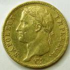 Photo numismatique  Monnaies Monnaies Française en or 1er Empire 20 Francs or NAPOLEON Ier, 20 francs or 1811 W Lille, G.1025 TTB+/TTB