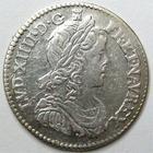 Photo numismatique  Monnaies Monnaies Royales Louis XIV Médaille 1/12ème d'Ecu à la mèche longue LOUIS XIV, 1/12ème d'Ecu à la mèche longue, 1660 I Limoge, 2.27 grammes, G.112 paillage au revers sinon TTB