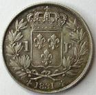 Photo numismatique  Monnaies Monnaies Françaises Henri V 1 Franc HENRI V, 1 franc 1831, G.451 Patine! SUPERBE