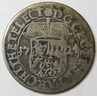 Photo numismatique  Monnaies Allemagne avant 1871 Allemagne, Deutschland, Pfalz 20 Kreuzers  Pfalz, 20 kreuzer 1724, KM.71 TB