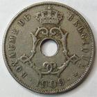 Photo numismatique  Monnaies Monnaies étrangères Belgique, Belgie, Belgien 25 Centimes Belgique, Belgie, Belgien, 25 centimes 1909, KM.62 TTB