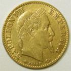 Photo numismatique  Monnaies Monnaies Française en or Second Empire 10 Francs or NAPOLEON III, 10 francs or lauré, 1866 A Paris, G.1015 TB à TTB