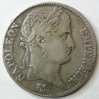 Photo numismatique  Monnaies Monnaies Françaises 1er Empire 5 Francs NAPOLEON Ier, 5 francs 1811 T Nantes, G.584 TB+