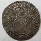 Photo numismatique  Monnaies Monnaies Royales Louis XIV Médaille 1/12 ème d'Ecu aux palmes LOUIS XIV, 1/12ème d'Ecu aux palmes, 1694 A Paris, 2.11 grammes, G.119 TB