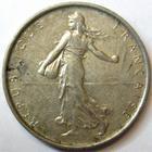 Photo numismatique  Monnaies Monnaies Françaises Cinquième république 5 Francs 5 Francs semeuse argent, 1968, G.770 TTB+