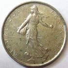 Photo numismatique  Monnaies Monnaies Françaises Cinquième république 5 Francs 5 francs semeuse argent, 1967, G.770 SUPERBE
